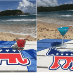 Presidential Election Cocktails Bolongo Bay Beach Resort, St. Thomas