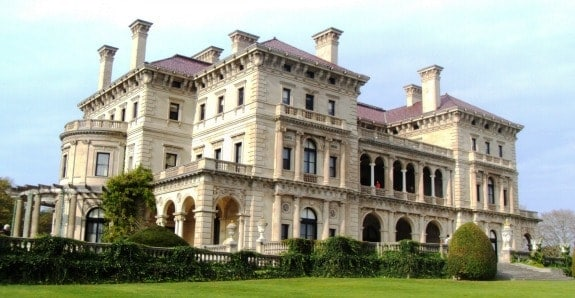 Gilded Age of Newport Mansions