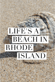 With 400 miles of coastline, one thing L'il Rhody is not short on, is beaches. In fact, it is said that between the waters of the Atlantic Ocean and Narragansett Bay, every resident of Rhode Island lives within 30 minutes of the shore.