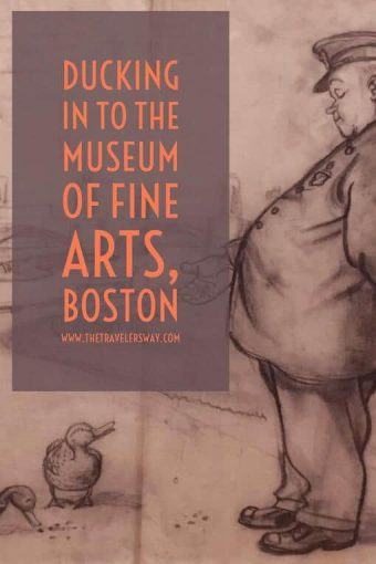 This year marks the 75th anniversary of the publication of the children's classic and The Museum of Fine Arts, Boston is celebrating with a special exhibit Make Way for Ducklings: The Art of Robert McCloskey.
