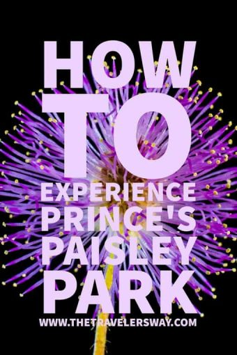Guests to Paisley Park get a glimpse at Prince's creative desire to live and work in a space free from limitation – a space that allowed him to nurture and fully express his otherworldly gifts as a musician and performing artist.