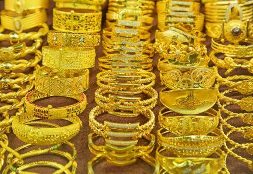 Gold souk in Dubai, UAE