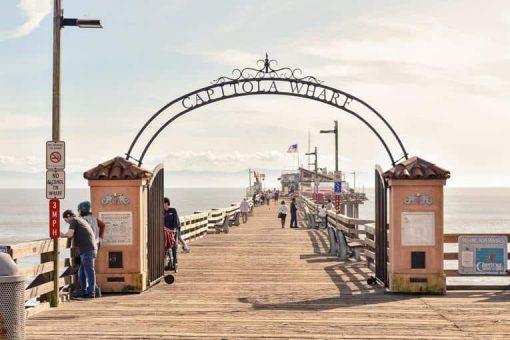 Capitola Beach in Santa Cruz via Unsplash