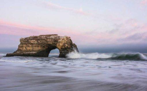 Natural Bridges State Beach, Santa Cruz, United States via unsplash