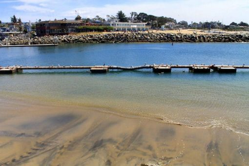 Seabright Beach in Santa Cruz via Mimi McFadden