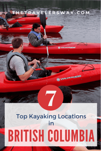 Kayaking presents a great opportunity to explore this coastline and all the wonders that are associated with its beautiful scenic views. With so many choices available to you we've narrowed it down to these top-rated kayaking locations in British Columbia. #britishcolumbia #canada #kayaking #outdooradventure #adventuretravel #pacificnorthwest
