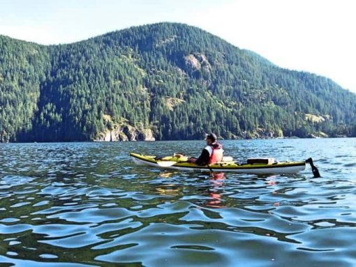 Deep Cove is one of the top kayaking locations in British Columbia.