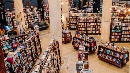 The Last Bookstore in Los Angeles, interior shot