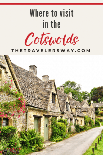 pinterest pin to plan a visit to the cotswolds