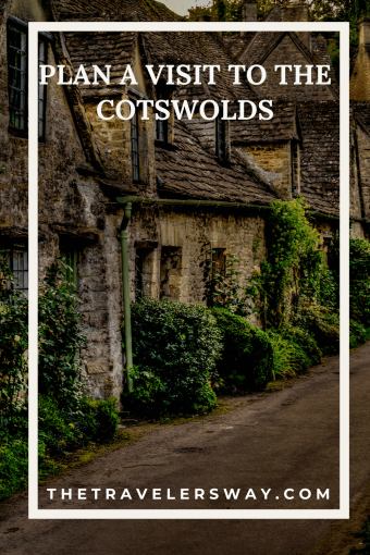 pinterest graphic to plan a weekend in the cotswolds
